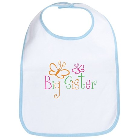 Big Sister T-shirt Bib