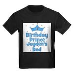 1st Birthday Prince Jayden's Kids Dark T-Shirt