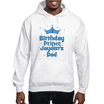 1st Birthday Prince Jayden's Hooded Sweatshirt