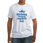 1st Birthday Prince Jayden's Fitted T-Shirt