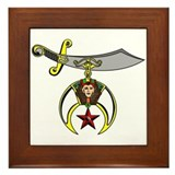 Shriner Framed Tile