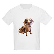 Spotty Dachshund Dog T-Shirt
