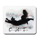 Cat Angel Mousepad
