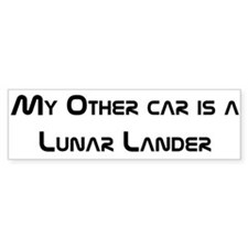 My other car is a Lunar Lander bumper sticker.