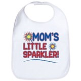 MOM'S LITTLE SPARKLER! Bib