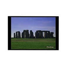 Stonehenge - Rectangle Magnet
