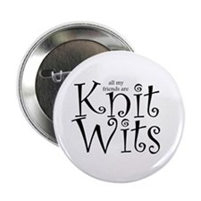 "Unique Knitting 2.25"" Button (10 pack)"