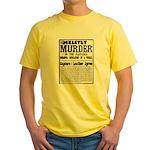 Jack The Ripper Yellow T-Shirt