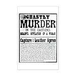 Jack The Ripper Mini Poster Print