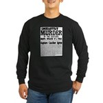 Jack The Ripper Long Sleeve Dark T-Shirt