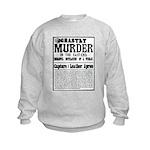 Jack The Ripper Kids Sweatshirt