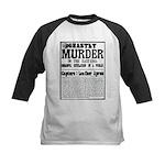 Jack The Ripper Kids Baseball Jersey