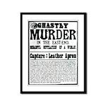 Jack The Ripper Framed Panel Print