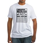 Jack The Ripper Fitted T-Shirt
