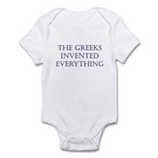 Greeks Invented Everything Infant Bodysuit