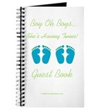 Boy Oh Boys - Coordinating Guest Book
