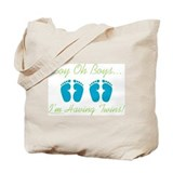 Boy Oh Boys - Twins Tote Bag