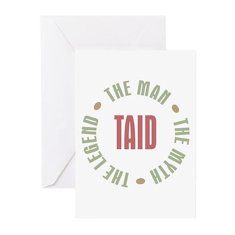 Taid Man Myth Legend Greeting Cards (Pk of 10)