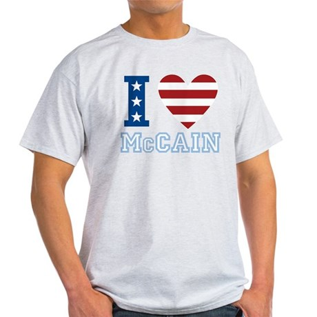 I Love McCain Light T-Shirt