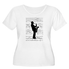 Jazz Sax on T-Shirt