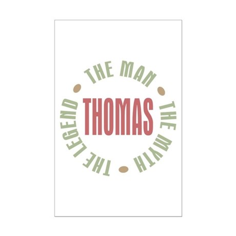 Thomas Man Myth Legend Mini Poster Print