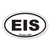 Tortola EIS Euro Oval Decal