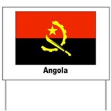 Angola Angolan Flag Yard Sign