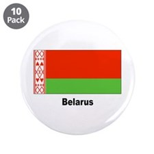 "Belarus Flag 3.5"" Button (10 pack)"