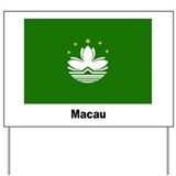 Macau Flag Yard Sign