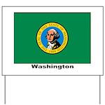 Washington State Flag Yard Sign