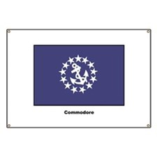 Commodore Flag Banner