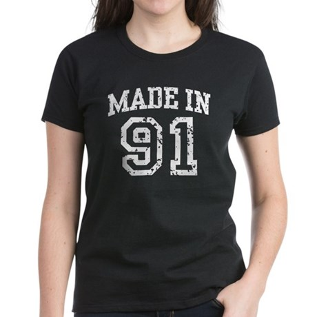 Made in 91 Women's Dark T-Shirt
