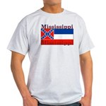 Mississippi State Flag Light T-Shirt
