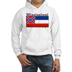 Mississippi State Flag Hooded Sweatshirt