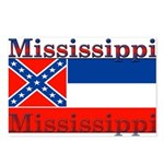 Mississippi State Flag Postcards (Package of 8)