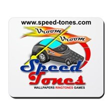 Speed Tones Mousepad (Speed Phone)