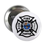 "Firefighters Think Green 2.25"" Button (10 pac"