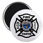 Firefighters Think Green Magnet