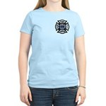 Firefighters Think Green Women's Light T-Shirt