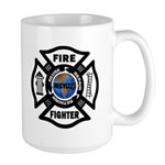 Firefighters Think Green Large Mug