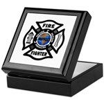 Firefighters Think Green Keepsake Box