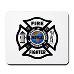 Firefighters Think Green Mousepad