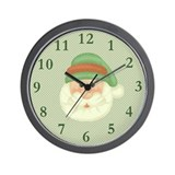 Santas Wish Wall Clock