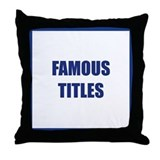 Suck it trebek Throw Pillow