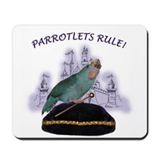 Parrotlets Rule! Blue Female  Mousepad