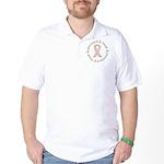2 Year Breast Cancer Survivor Golf Shirt