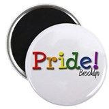 Brooklyn Gay Pride Magnet