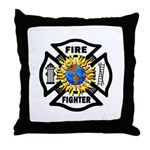 Firefighter Energy Throw Pillow