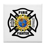 Firefighter Energy Tile Coaster