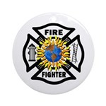 Firefighter Energy Ornament (Round)